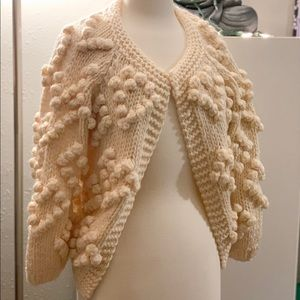 Chicwish NWT Knit Your Love Cardigan Ivory S/M